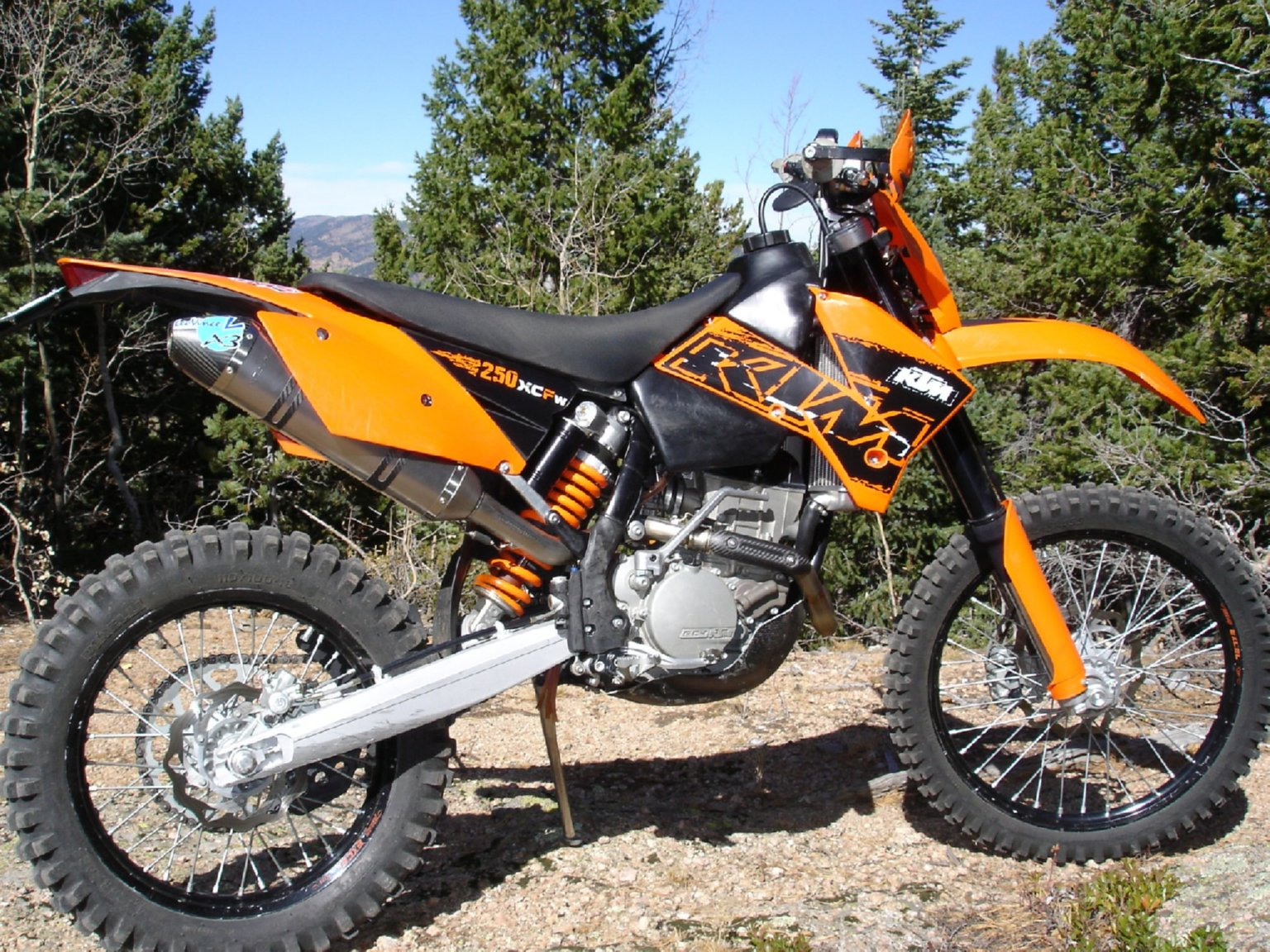 deathtrail bike setup